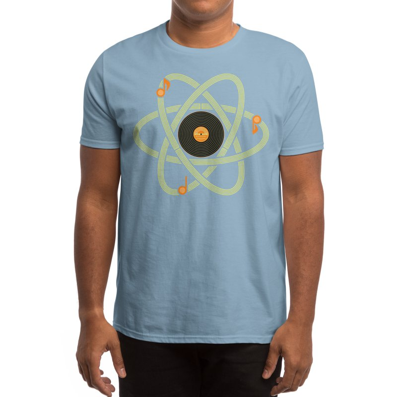 Molecular Music Men's T-Shirt by mj's Artist Shop