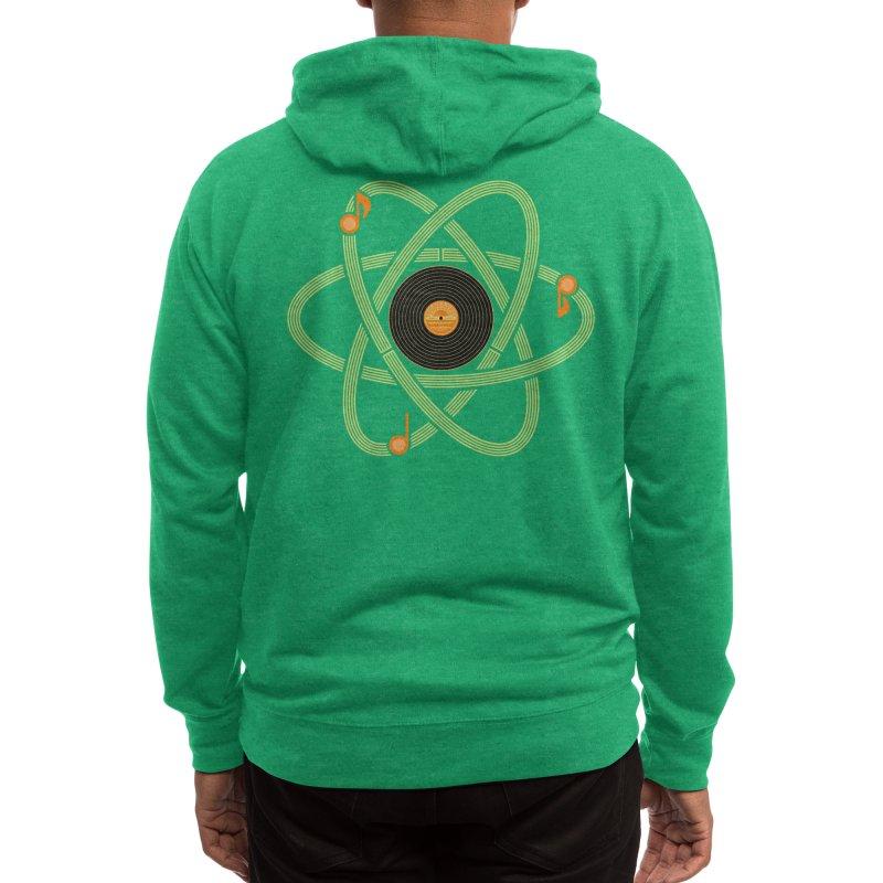 Molecular Music Men's Zip-Up Hoody by mj's Artist Shop