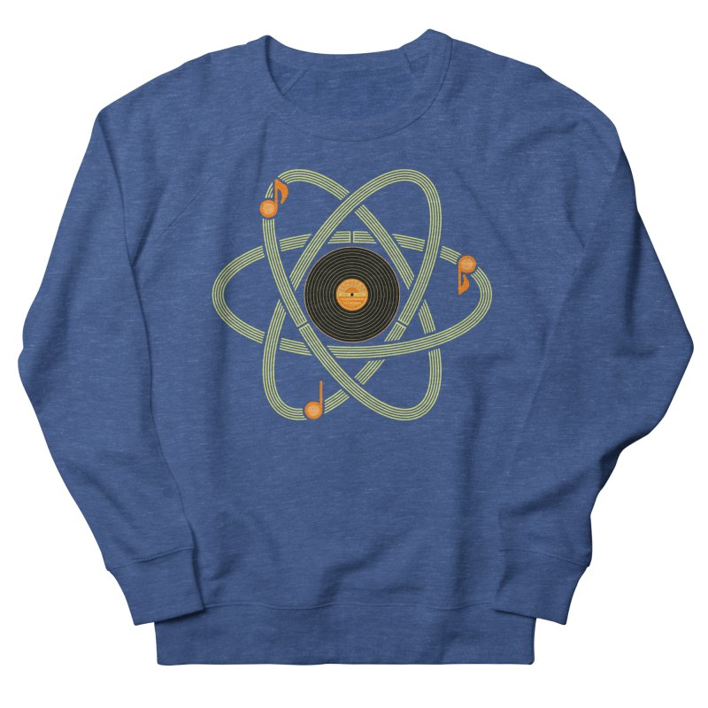 Molecular Music Men's Sweatshirt by mj's Artist Shop