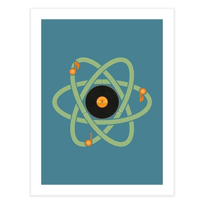Molecular Music Home Fine Art Print by mj's Artist Shop