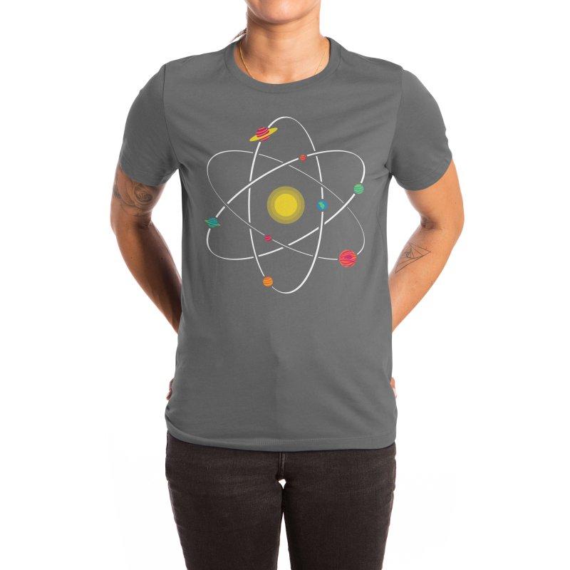 Small Worlds Women's T-Shirt by mj's Artist Shop