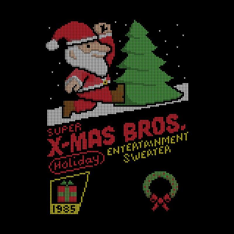 Super X-Mas Bros Women's T-Shirt by mj's Artist Shop