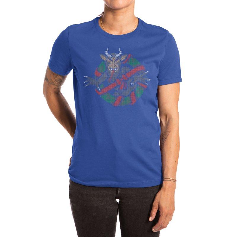 Krampus Busters Women's T-Shirt by mj's Artist Shop
