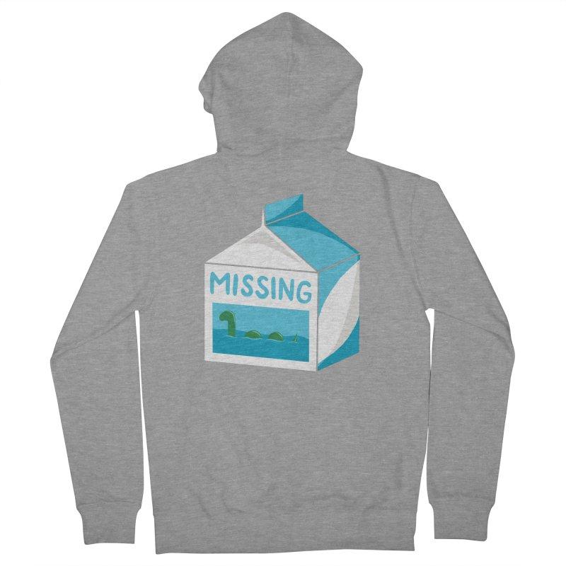 Missing Men's Zip-Up Hoody by mj's Artist Shop