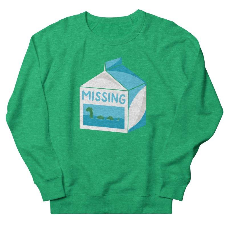 Missing Women's French Terry Sweatshirt by mj's Artist Shop
