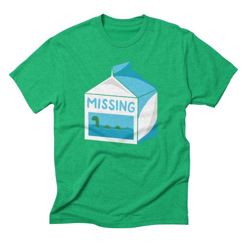 Missing Men's Triblend T-shirt by mj's Artist Shop