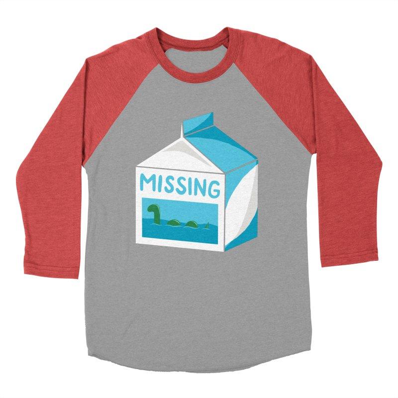Missing Women's Baseball Triblend T-Shirt by mj's Artist Shop