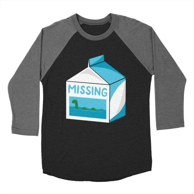 Missing Women's Baseball Triblend T-Shirt by mj's Artist Shop