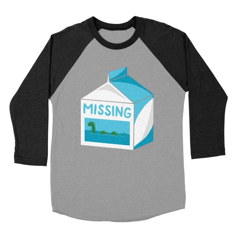 Missing Men's Baseball Triblend T-Shirt by mj's Artist Shop