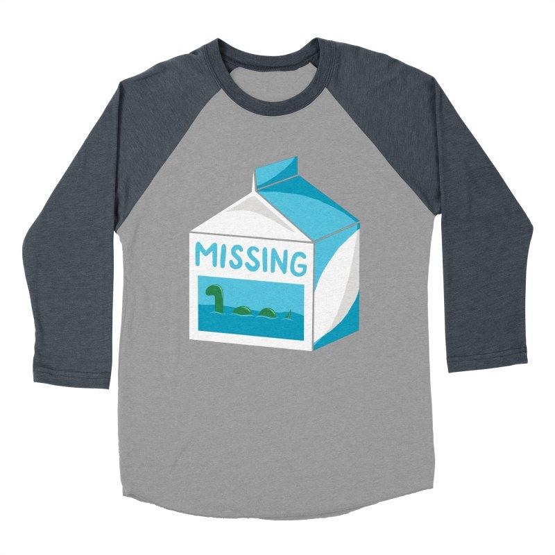 Missing Men's Baseball Triblend Longsleeve T-Shirt by mj's Artist Shop