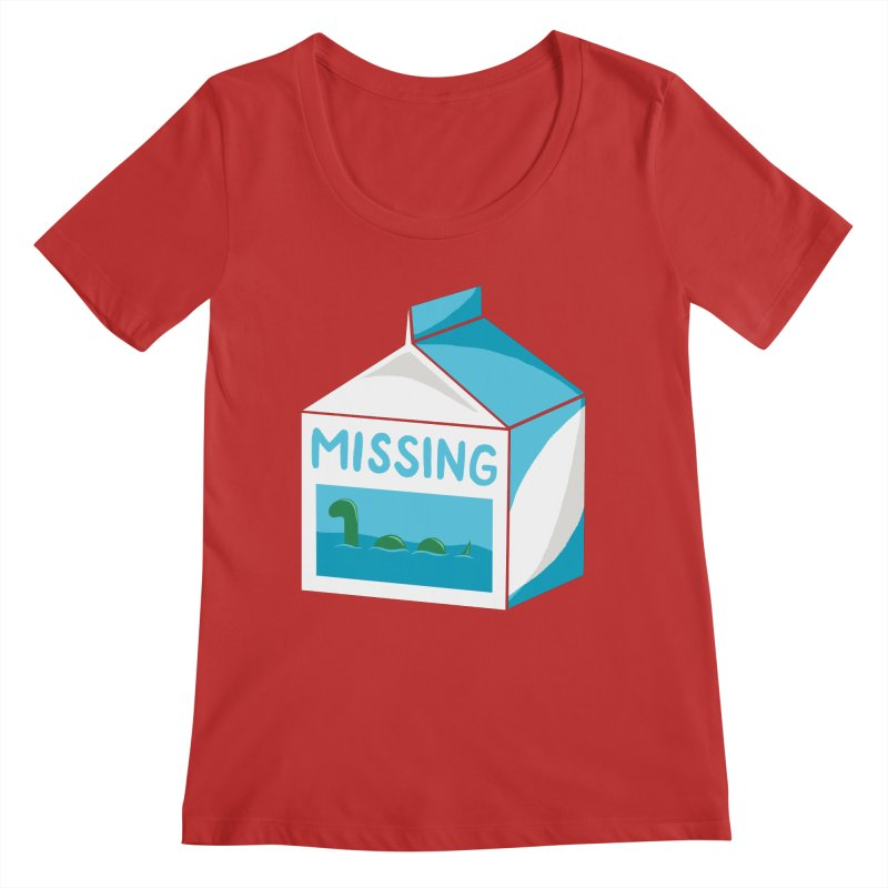 Missing Women's Scoop Neck by mj's Artist Shop