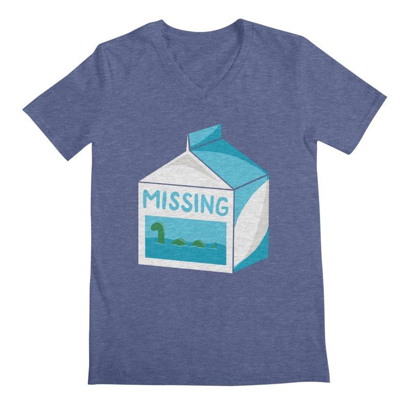 Missing Men's V-Neck by mj's Artist Shop