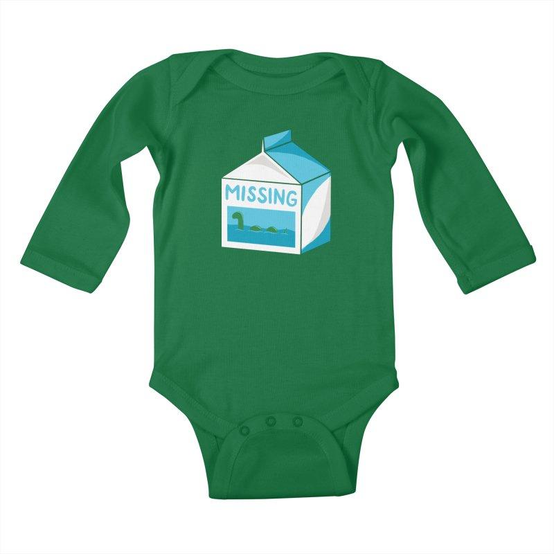 Missing Kids Baby Longsleeve Bodysuit by mj's Artist Shop