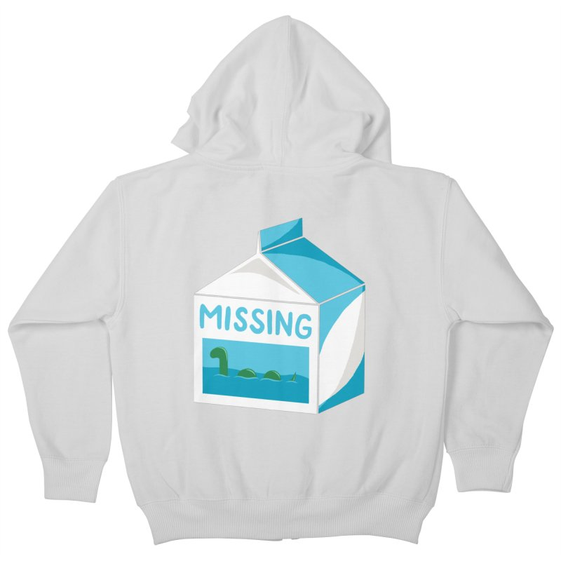Missing Kids Zip-Up Hoody by mj's Artist Shop