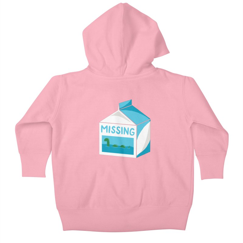 Missing Kids Baby Zip-Up Hoody by mj's Artist Shop
