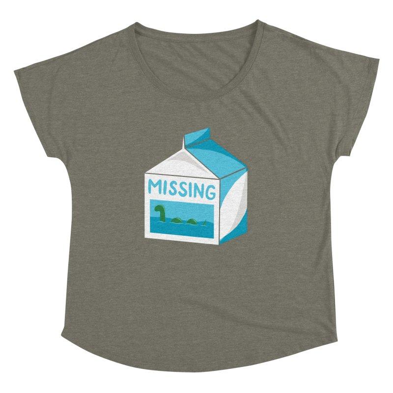 Missing Women's Dolman Scoop Neck by mj's Artist Shop