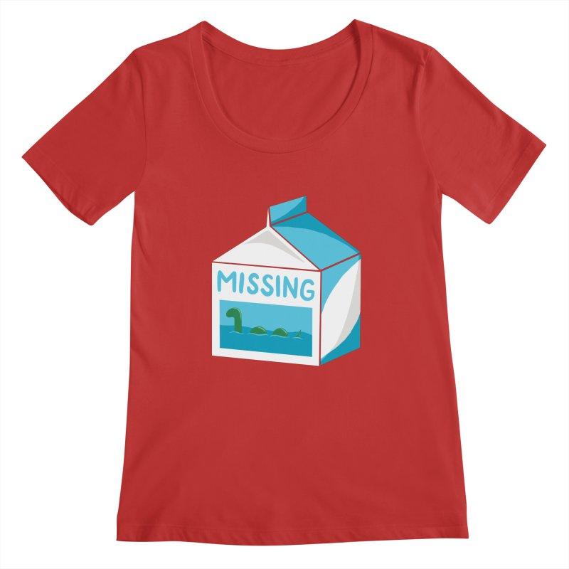 Missing Women's Regular Scoop Neck by mj's Artist Shop