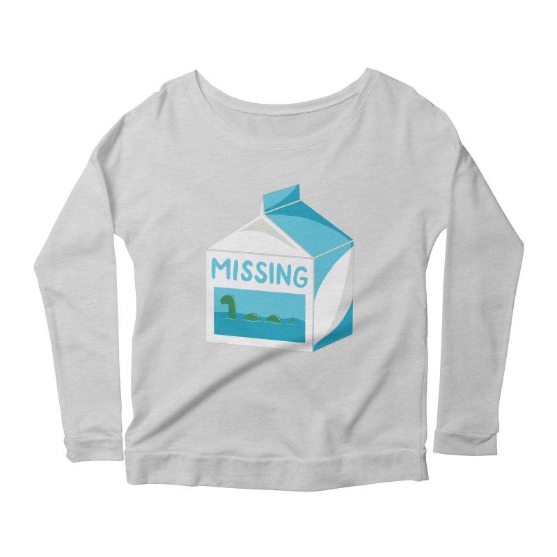 Missing Women's Scoop Neck Longsleeve T-Shirt by mj's Artist Shop