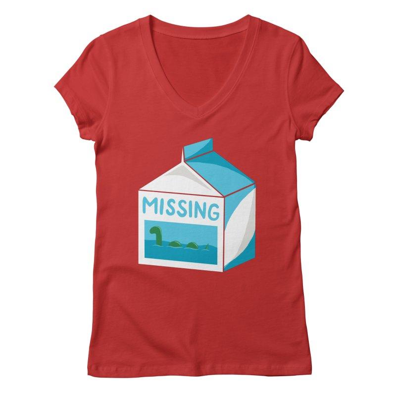 Missing Women's Regular V-Neck by mj's Artist Shop
