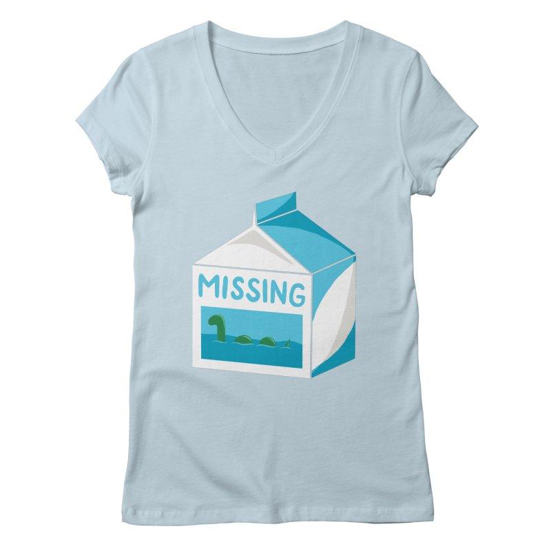Missing Women's V-Neck by mj's Artist Shop