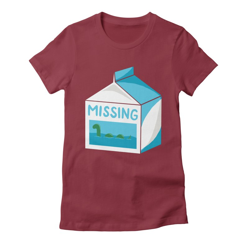 Missing Women's Fitted T-Shirt by mj's Artist Shop