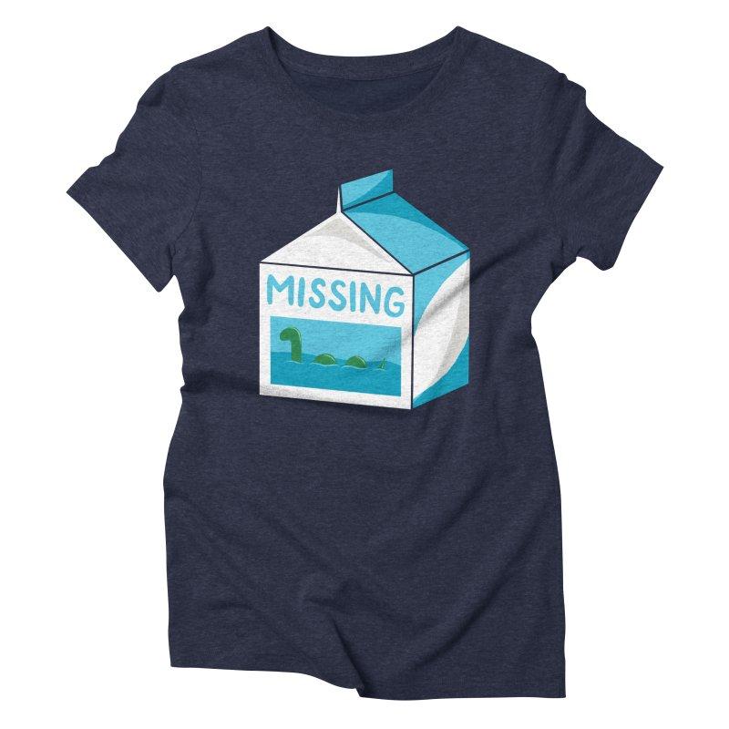 Missing Women's Triblend T-Shirt by mj's Artist Shop
