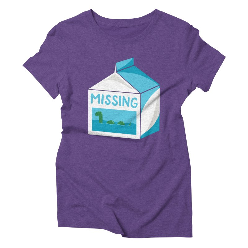 Missing Women's Triblend T-Shirt by mj's Artist Shop