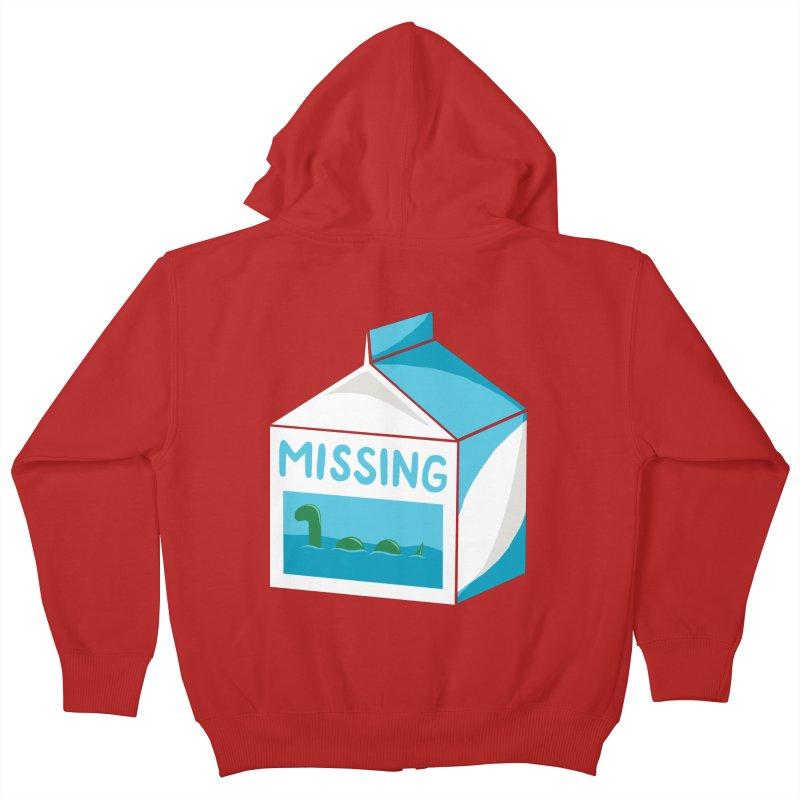 Missing Kids Zip-Up Hoody by mj's Artist Shop
