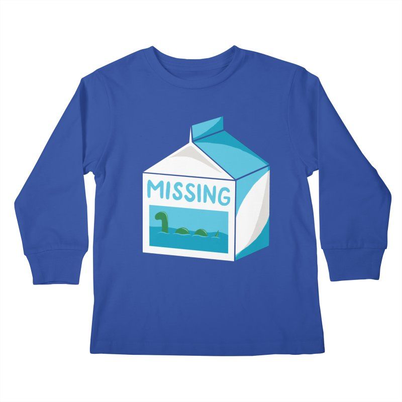 Missing Kids Longsleeve T-Shirt by mj's Artist Shop