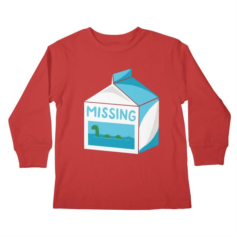 Missing Kids Longsleeve T-Shirt by mj's Artist Shop
