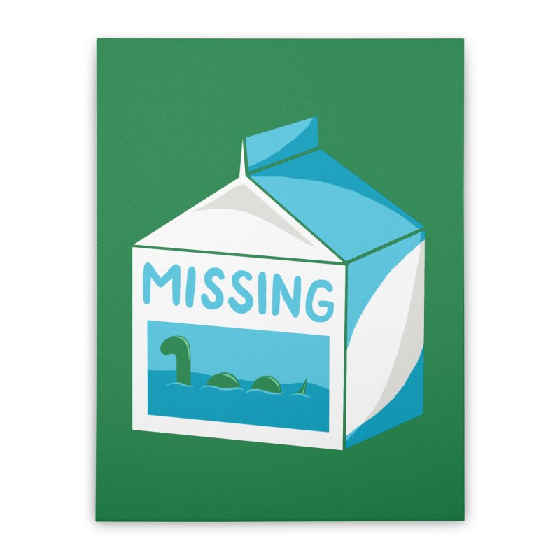 Missing Home Stretched Canvas by mj's Artist Shop