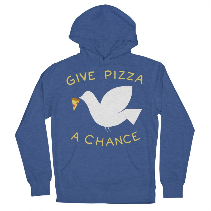 War and Pizza Women's Pullover Hoody by mj's Artist Shop