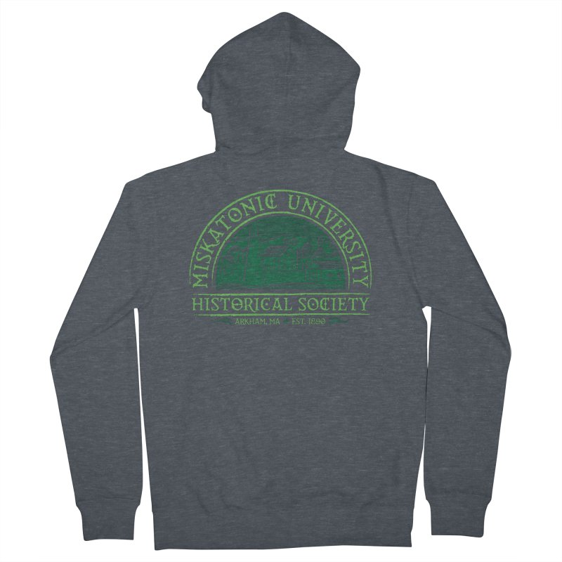 Miskatonic Historical Society Men's Zip-Up Hoody by mj's Artist Shop