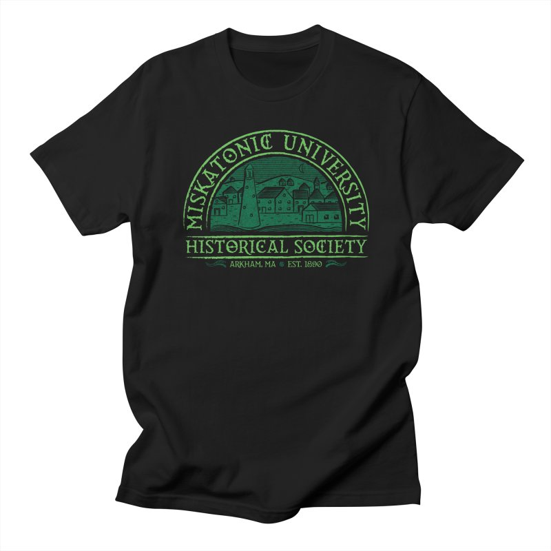 Miskatonic Historical Society Men's Regular T-Shirt by mj's Artist Shop