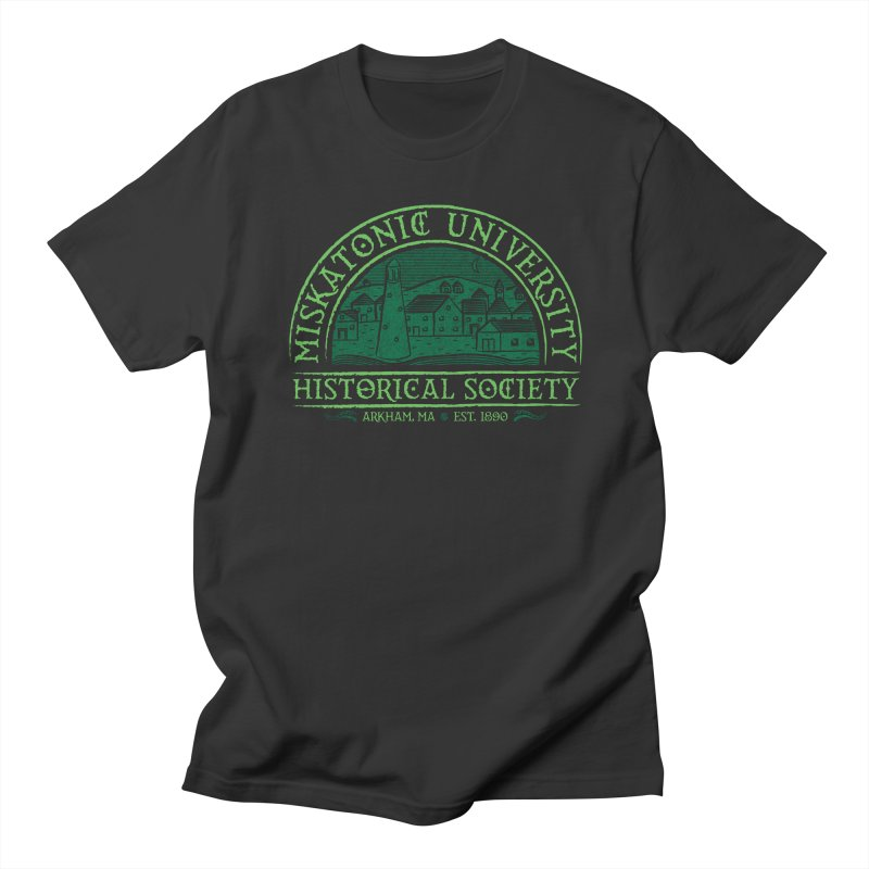 Miskatonic Historical Society Men's T-Shirt by mj's Artist Shop