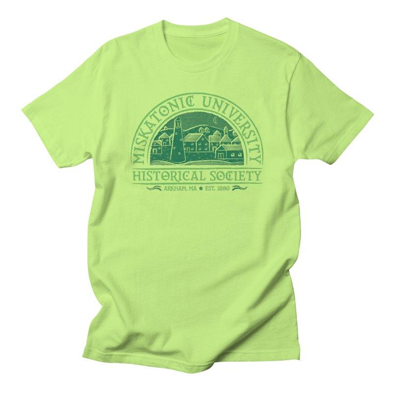 Miskatonic Historical Society Men's T-Shirt by mj's Artist Shop