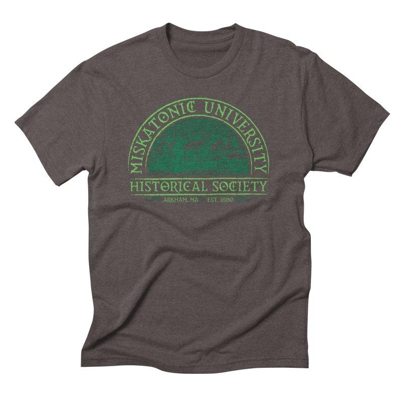 Miskatonic Historical Society Men's Triblend T-shirt by mj's Artist Shop