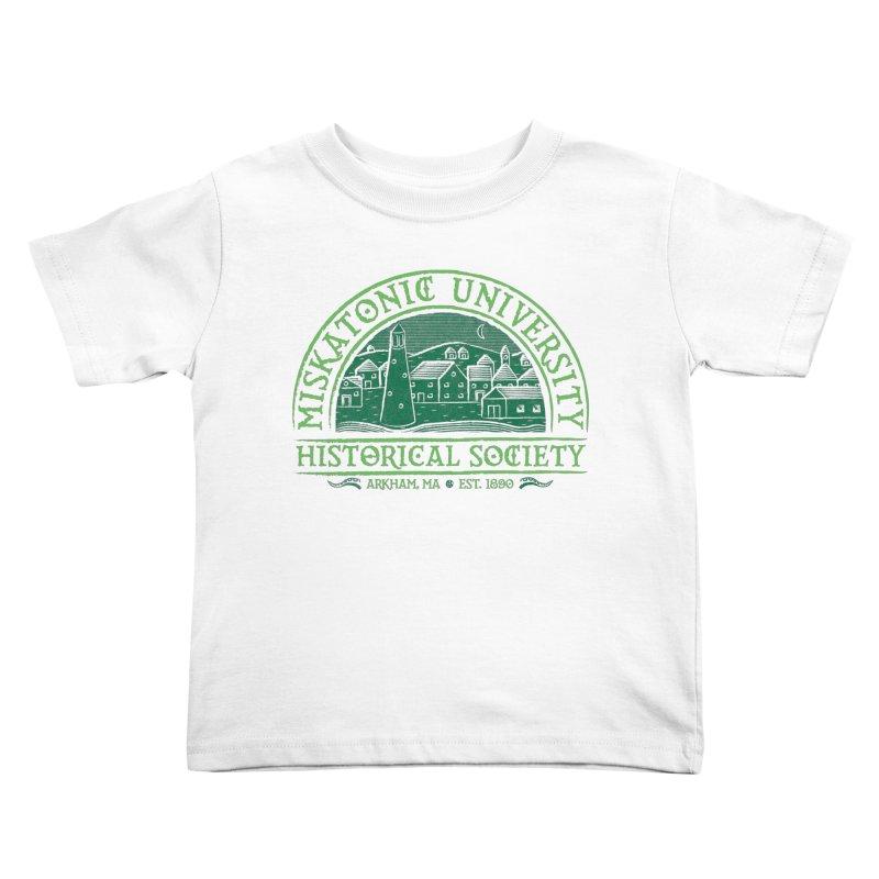Miskatonic Historical Society Kids Toddler T-Shirt by mj's Artist Shop