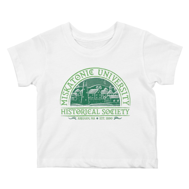 Miskatonic Historical Society Kids Baby T-Shirt by mj's Artist Shop