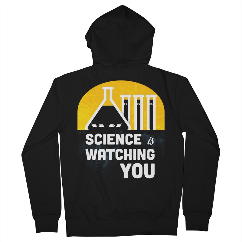Science is Watching You Women's Zip-Up Hoody by mj's Artist Shop