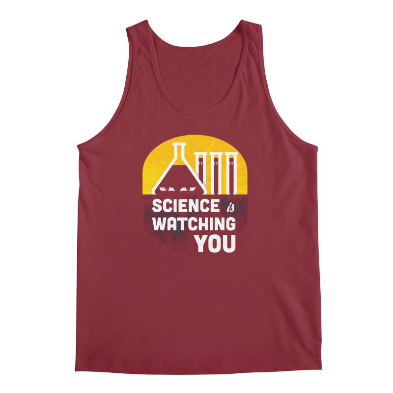Science is Watching You Men's Regular Tank by mj's Artist Shop