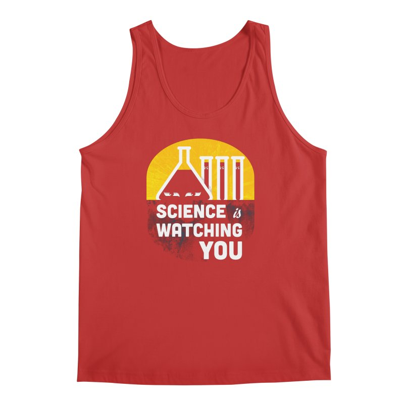 Science is Watching You Men's Tank by mj's Artist Shop