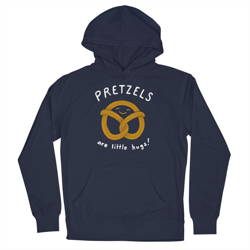 Pretzels are Little Hugs Women's French Terry Pullover Hoody by mj's Artist Shop