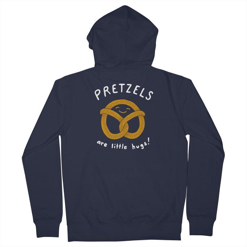 Pretzels are Little Hugs Women's Zip-Up Hoody by mj's Artist Shop