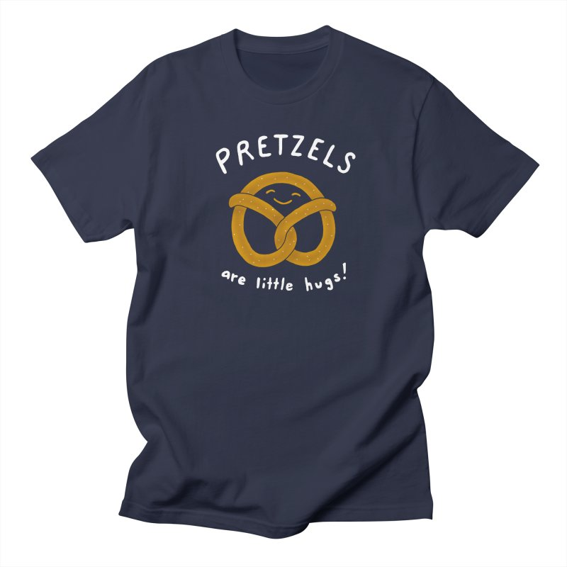 Pretzels are Little Hugs Men's Regular T-Shirt by mj's Artist Shop