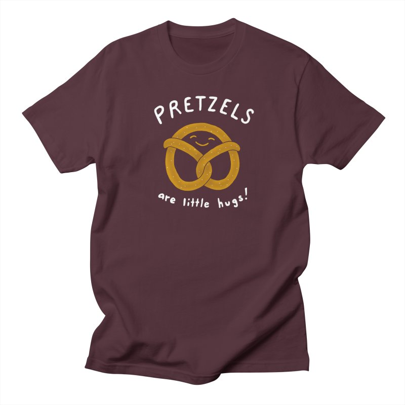 Pretzels are Little Hugs Men's Regular T-Shirt by mj's Artist Shop