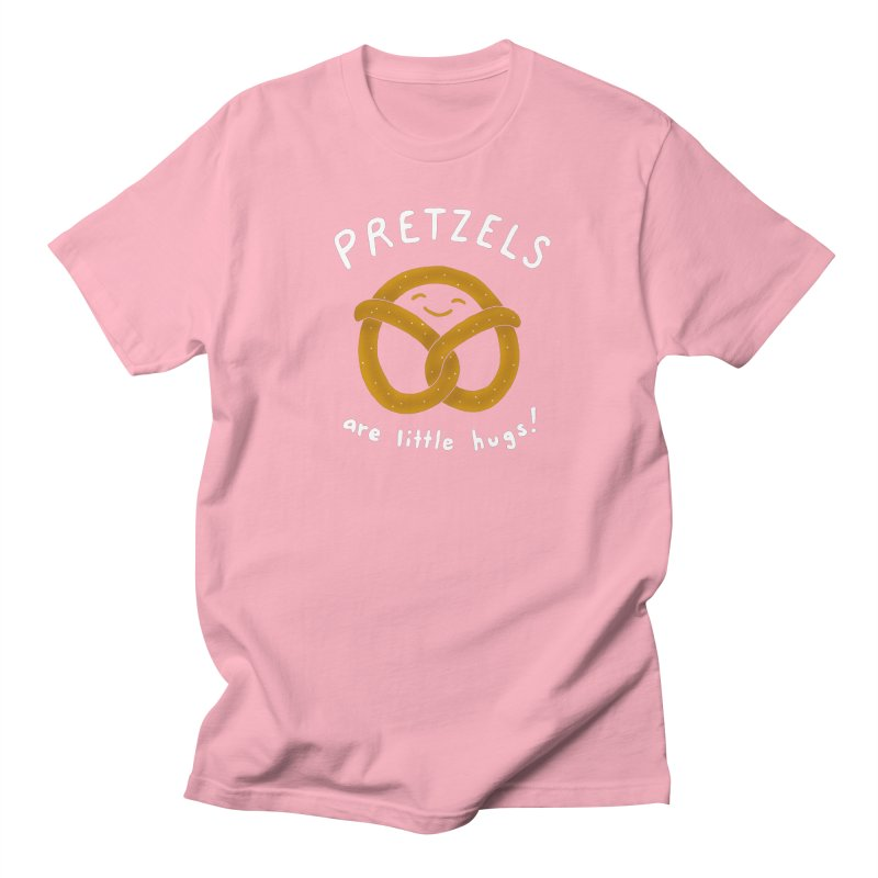 Pretzels are Little Hugs Men's T-Shirt by mj's Artist Shop