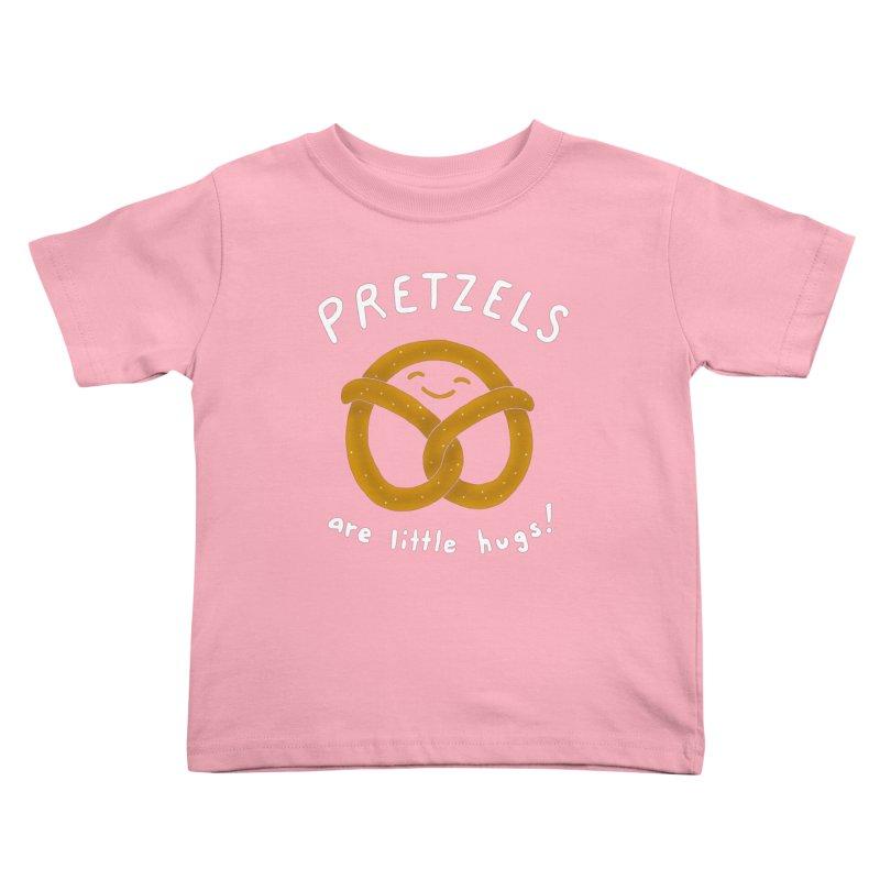 Pretzels are Little Hugs Kids Toddler T-Shirt by mj's Artist Shop