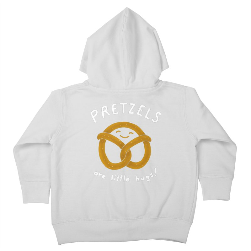 Pretzels are Little Hugs Kids Toddler Zip-Up Hoody by mj's Artist Shop