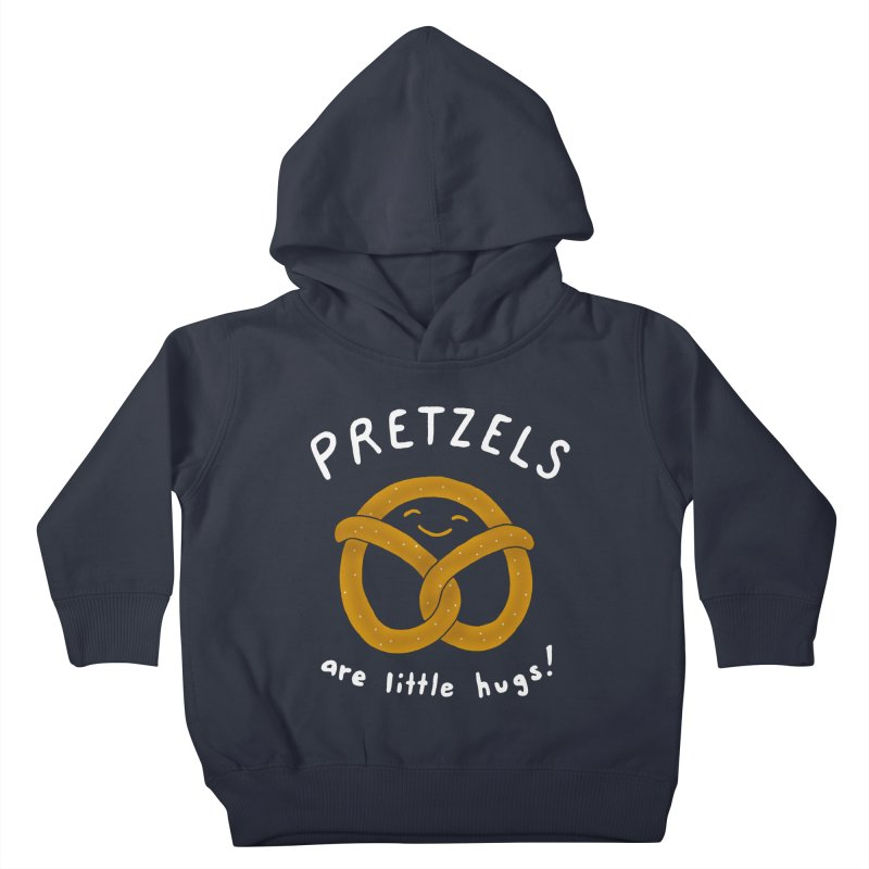Pretzels are Little Hugs Kids Toddler Pullover Hoody by mj's Artist Shop